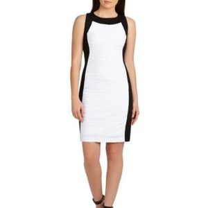 NWT Calvin klein Color-Block Knit Sheath Dress